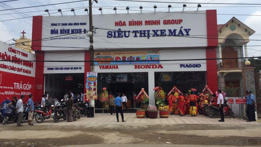 Siêu thị xe máy Hòa Bình Minh 9_Long Thành, Đồng Nai
