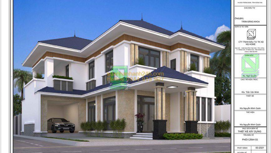 Bản vẽ thiết kế nhà ở
